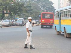 Guarda de trânsito de Kolkata