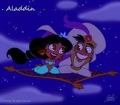 Aladdin chibis.