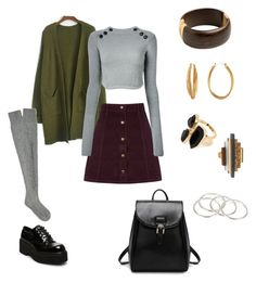 """""""Second Story"""" by kiadabomb on Polyvore featuring Barrie, Oasis, Isabel Marant, Steve Madden, Diane Von Furstenberg, River Island and Vanessa Mooney #fashion #style #styleinspiration #inspiration #womenswear"""
