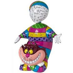Romero Britto - Disney By Britto - Cheshire Cat Figurine -