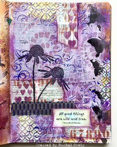 Art Journal page by Rachel Greig