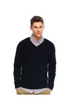 Pop Contrast V-neck SweaterOnline Exclusive - Sweaters - Mens - Armani Exchange