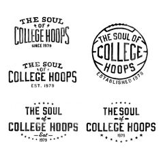 Logos for Fox Sports Big East basketball campaign. They chose second design down on left. Saw the ad run during the World Series. It was the one highlight of the Met's loss. #basketball #graphicdesign #typography #bigeast #watercolor