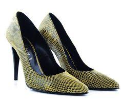 Pantofi stiletto snake print - Stiletto - Incaltaminte dama - Etienne