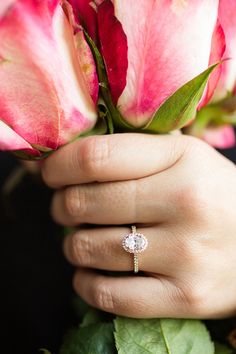 Ring shopping? Take a peek at our James Allen engagement ring and wedding band pairings on LaurenConrad.com