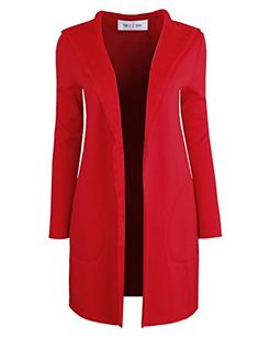 $31.99-39.99 Tom's Ware Womens Stylish Open Front Hooddie Coat TWFWC02-RED-L(M/L) Tom's Ware http://www.amazon.com/dp/B00NH9Q5JQ/ref=cm_sw_r_pi_dp_K5xrub0TBRFYT