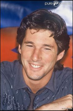 Richard Gere-Then the smiled turned me on.