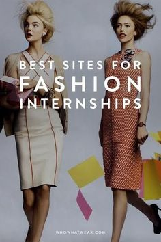 The Best Sites to Search for a Fashion Internship