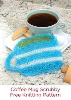 Coffee Mug Scrubby F