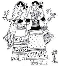 [MADHUBANI folk art]