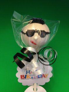 Cool Dude Cake pop