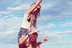 best friends, fashion, photography, separate with comma, sky ...
