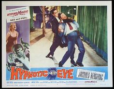 The Hypnotic Eye (1960). The plot thickens with a brutal fight scene. And a left! And a right! Don't let that Desmond get away with it!