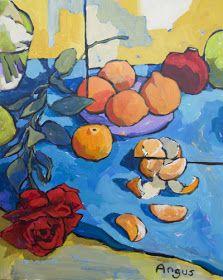 Por amor al arte: Angus Wilson Still Life 2, Still Life Fruit, Barnett Newman, Alex Colville, Watercolor Effects, Watercolor Art, Wilson Art, Bo Bartlett, Painting Still Life