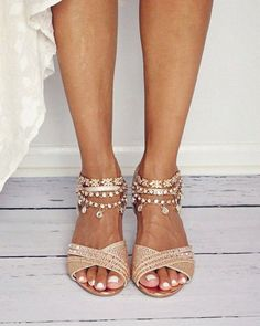 Gold Anklets Bridal Anklet Beach Wedding Sandals Beach Wedding Shoes Boho Anklets Bohemian Bride Boho Bride Jewelry Gold Sandals Foot Chain#anklet #anklets #beach #bohemian #boho #bridal #bride #chain #foot #gold #jewelry #sandals #shoes #wedding Boho Wedding Shoes, Beach Wedding Sandals, Wedding Boots, Bridal Sandals, Gold Bridal Shoes, Outdoor Wedding Shoes, Gold Sandals, Bare Foot Sandals, Shoes Sandals