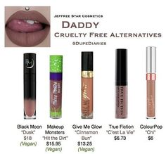 """DUPE DIARIES (@dupediaries) on Instagram: """"Please note that the alternatives listed above may not be exact as the shade 'daddy'; itself has not…"""""""