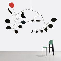Perfect combo: Jean Prouve x Calder : Paris-Bourget Gagosian/Patrick Seguin exhibition