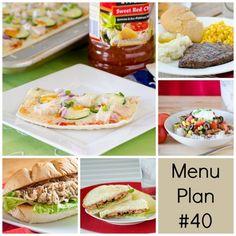 rmk menu plan week 40