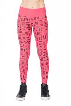Calça Legging Color Live! Pink
