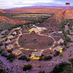 Luxuriöse Lodges im Sanbona Wildlife Reserve