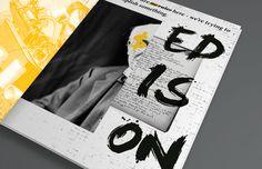 Edison on Editorial Design Served