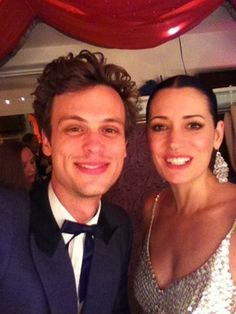 Paget & Matthew at Thrilling Adventure Hour - paget-brewster Photo