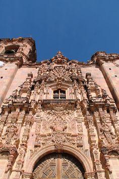 La Valenciana, Guanajuato. Ultrabarroco en todo su esplendor.