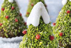 Los árboles de navidad de chocolate no solo están deliciosos, también sirven para decorar.