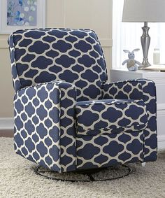 Look at this Ocean Strathmore Sutton Swivel Recliner on #zulily today!
