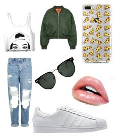 """""""BOB..!"""" by emma1322 on Polyvore featuring Topshop, adidas Originals and Spitfire"""