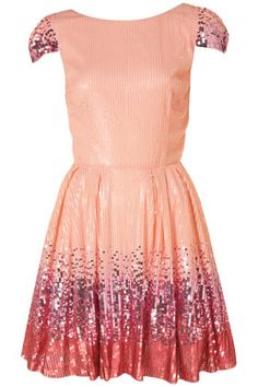 Ombre Sequin Dress.