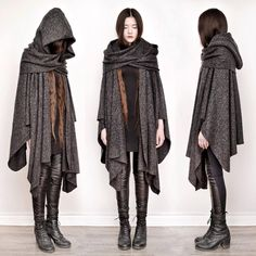 """""""apparently theres a variation of mori girl fashion called dark mori and it literally what an actual witch would wear"""" Kleidung Design, Tokyo Street Fashion, Mori Girl Fashion, Witch Fashion, Fashion Black, Gothic Fashion, Vintage Fashion, Cool Outfits, Fashion Outfits"""