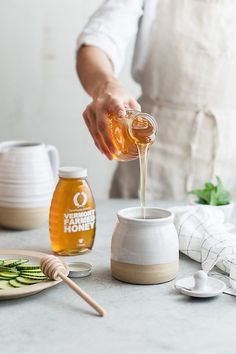 Slide View: Farmhouse Pottery Beehive Honey Pot and Wooden Dipper Farmhouse Pottery, Health And Nutrition, Proper Nutrition, Nutrition Tips, Health Tips, Nutrition Products, Sports Nutrition, Nutrition Websites, Health Benefits