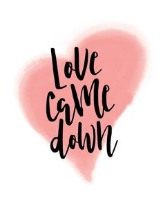 Love Came Down  He reached down from heaven and rescued me; he drew me out of deep waters. Psalm 18:16  Love came down and saved us. He broke our chains and set us free so we can have everlasting life. He will never abandon us nor reject us. He is our King… full of grace, love and compassion. #lovecamedown