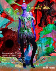 Photographer: ZOMNIA Model: Joan Smalls Agency: IMG Models Hair: NM Studio