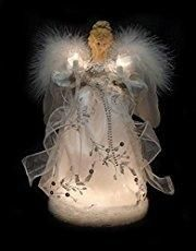 Lighted Christmas Angel Tree Toppers by Lewis L