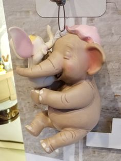 Take A Closer Look At The 2018 Disney Hallmark Keepsake Ornaments! Hallmark Disney Ornaments, Hallmark Keepsake Ornaments, Hallmark Christmas, Disney Christmas, Diy Ornaments, Christmas Ornaments, Babyshower, Dumbo Birthday Party, Dumbo Baby Shower