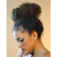 Halo Bun | Tutorials for Natural and Curly Hair