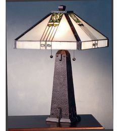 """Meyda Lighting 70967. Triahome is proud to be authorized dealers of Meyda Lighting. Buy from a TRUSTED SOURCE! 23""""H Pasadena Rose Table Lamp. Item Collection: Pasadena Rose. THE COPPER FOILED SHADE IS SUPPORTED BY AHAND PAINTED HAMMERED MAHOGANY BRONZE BASE IN THISCLASSIC TABLE LAMP. 