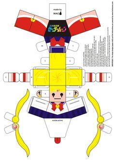 Sailor Moon Paper Doll by Willianac.deviantart.com