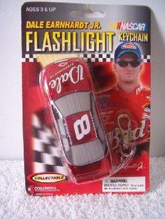 Nascar Racing Dale Earnhardt Jr. Flashlight KeyChain #8