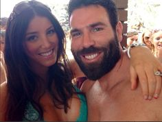 Wish my beard attracted girls like this! Probably helps he's minted! Fair play Dan Bilzerian