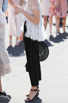 The best street style from the 2016 spring racing season - Vogue Australia