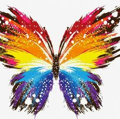you are finding The butterfly wallpaper Image. You Can save This butterfly wallpaper Photo easy to your Laptop. Butterfly Painting, Butterfly Wallpaper, Butterfly Art, Rainbow Butterfly, Colorful Wallpaper, Butterfly Images, Butterfly Mobile, Glitter Wallpaper, Pink Wallpaper