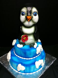 Penguin Cake by Mary Griffis, via Flickr