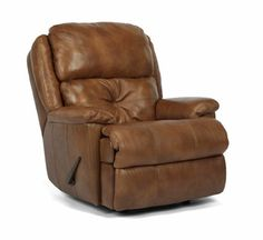 Flexsteel Furniture: Latitudes: Cruise ControlLeather Rocking Recliner (1226-510)