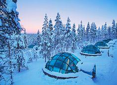 Glazen iglo in Lapland - Finland -Glamping.nl