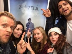 The Musketeers cast, Marc Warren, Maimie McCoy, Alexandra Dowling, Tamla Kari and Luca Pasqualino.