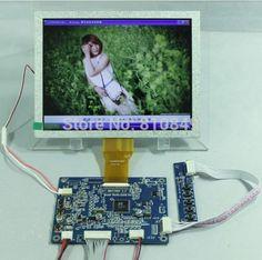 60.00$  Buy now - http://aliq71.shopchina.info/go.php?t=2023811669 - VGA+CVBS Driver Board with 8inch tft lcd 800x600 pixels  #bestbuy