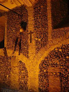 Skull and bones around the World
